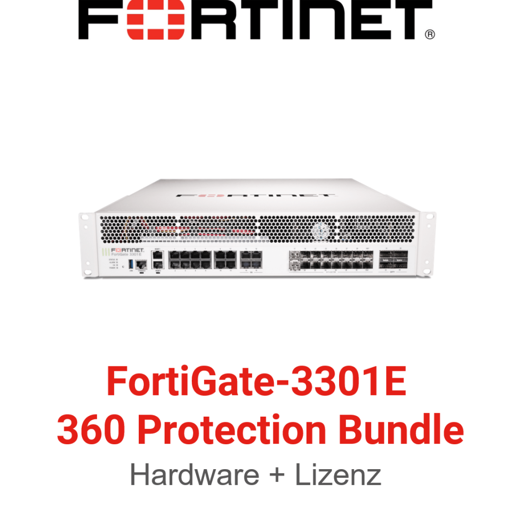 Fortinet FortiGate-3301E - 360 Bundle (Hardware + Lizenz)