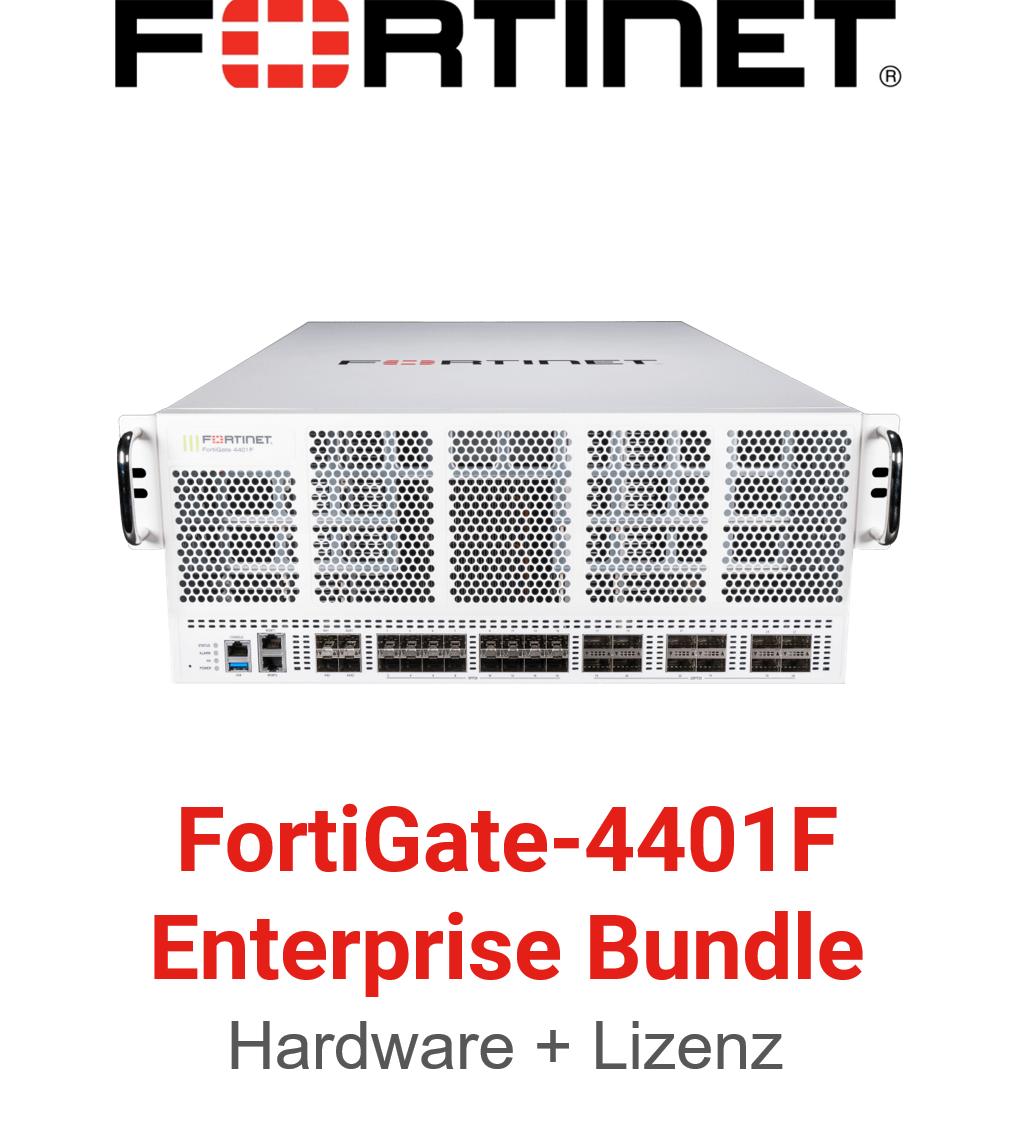 Fortinet FortiGate-4401F - Enterprise Bundle (Hardware + Lizenz)