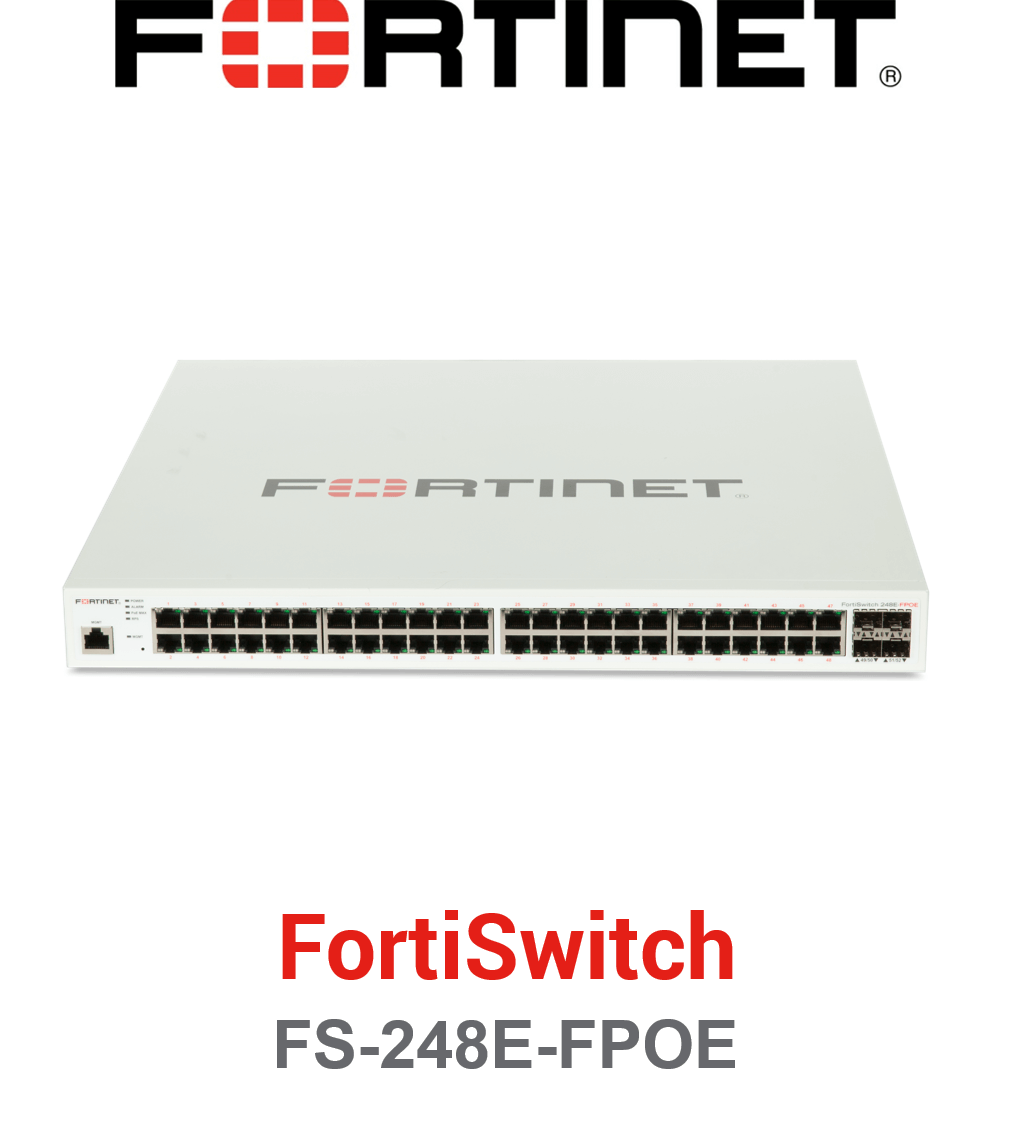 Fortinet FortiSwitch-248E-FPOE