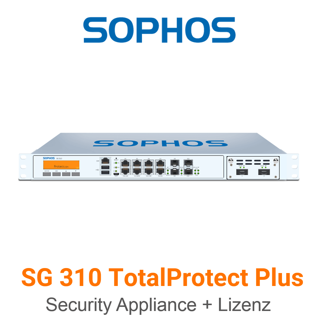 Sophos SG 310 TotalProtect Plus Bundle (Hardware + Lizenz)
