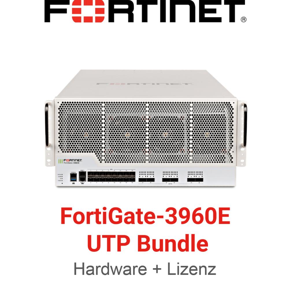 Fortinet FortiGate-3960E - UTM/UTP Bundle (Hardware + Lizenz)