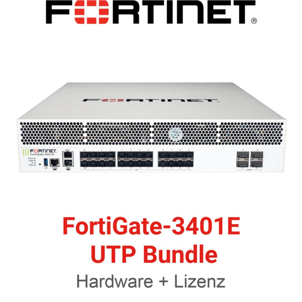Fortinet FortiGate-3401E UTM/UTP Bundle