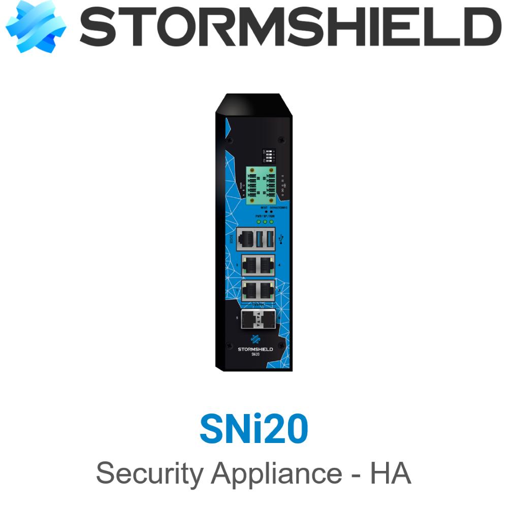 Stormshield SNi20 Industrie Firewall HA