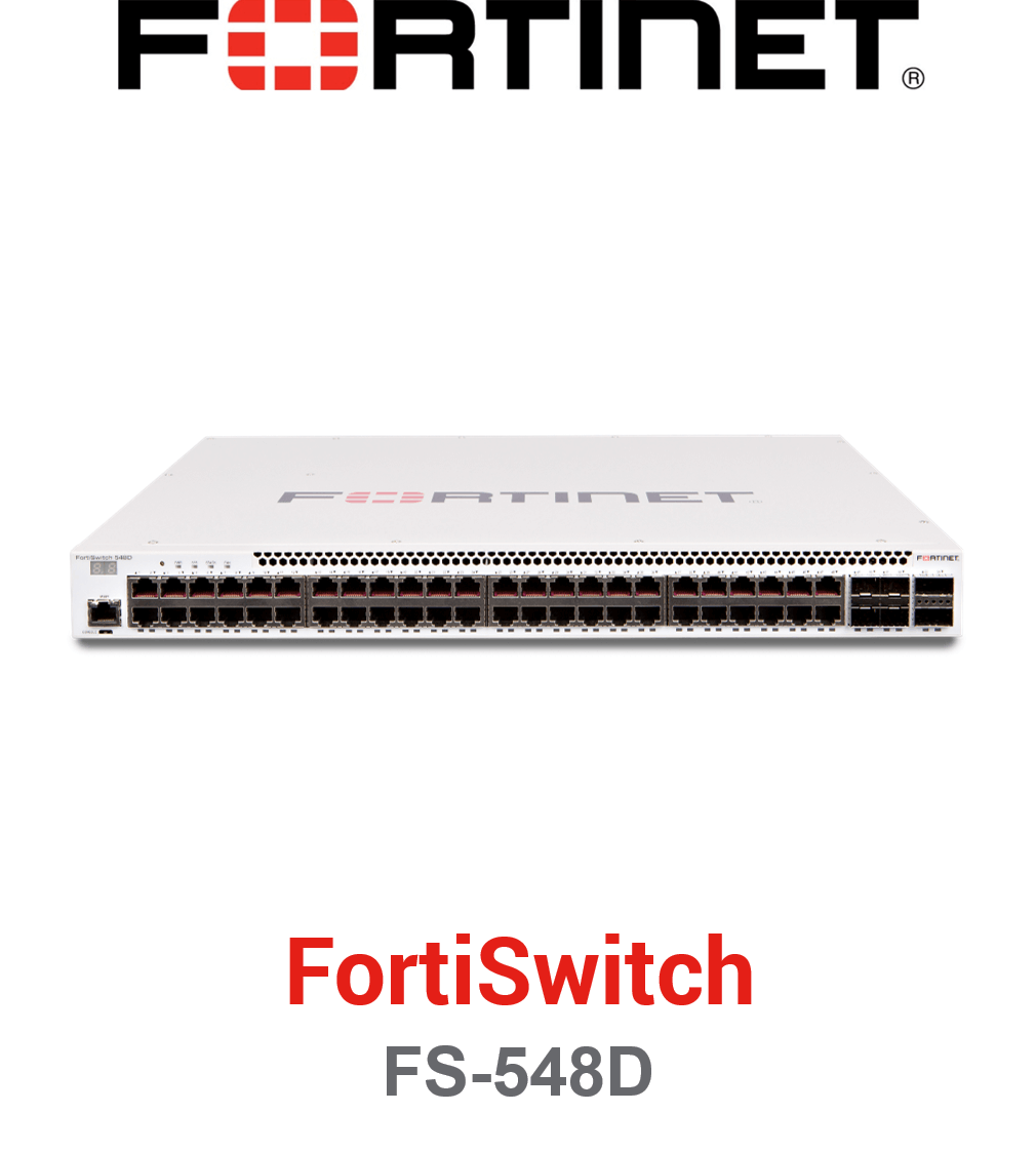 Fortinet FortiSwitch-548D