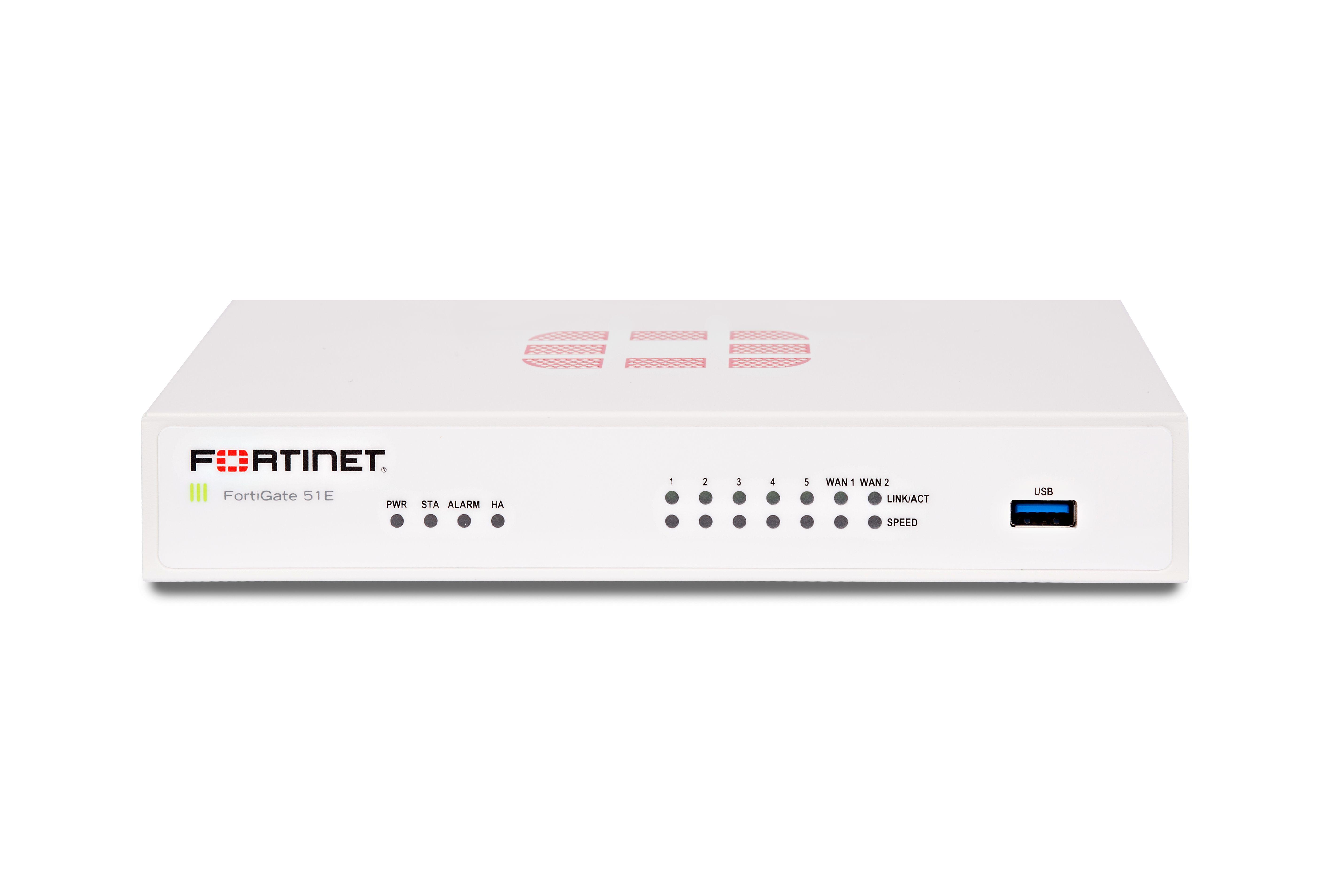 Fortinet FortiGate FG-51E ATP Bundle (Hardware + Lizenz)