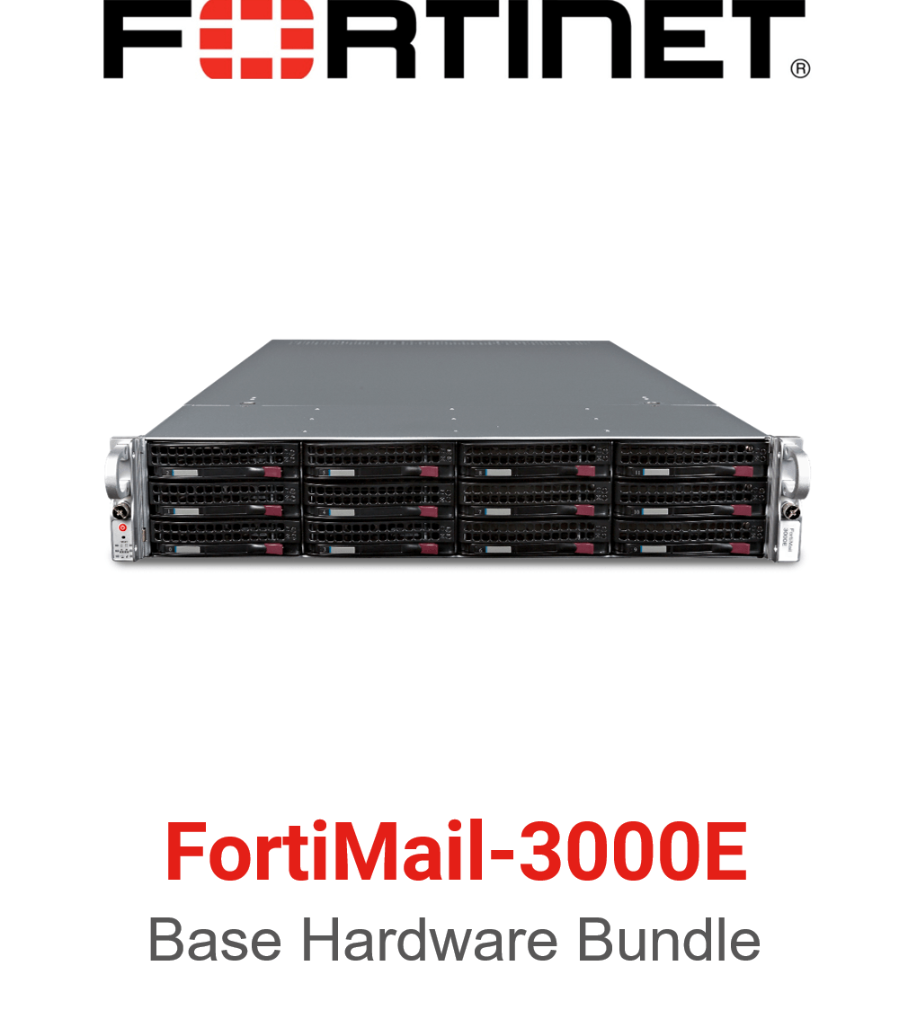 Fortinet FortiMail-3000E - Base Bundle (Hardware + Lizenz)