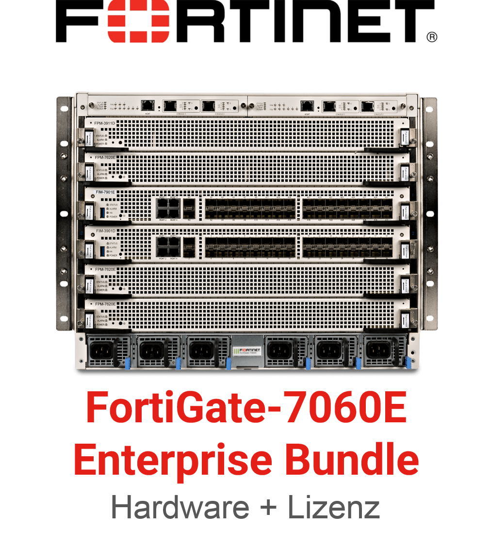 Fortinet FortiGate-7060E-8 - Enterprise Bundle (Hardware + Lizenz)