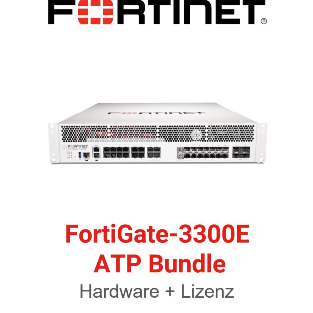 Fortinet FortiGate-3300E - ATP Bundle (Hardware + Lizenz)