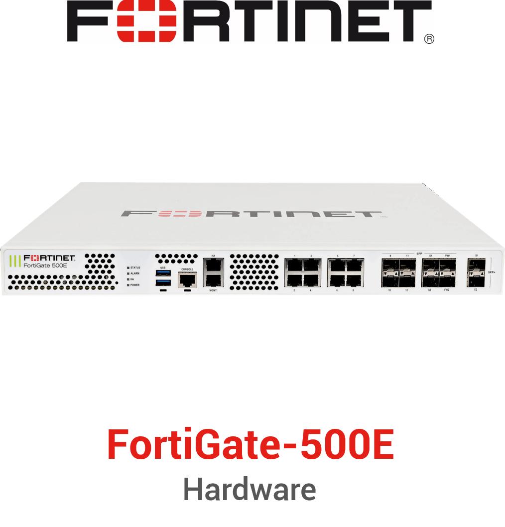 Fortinet FortiGate 500E Firewall