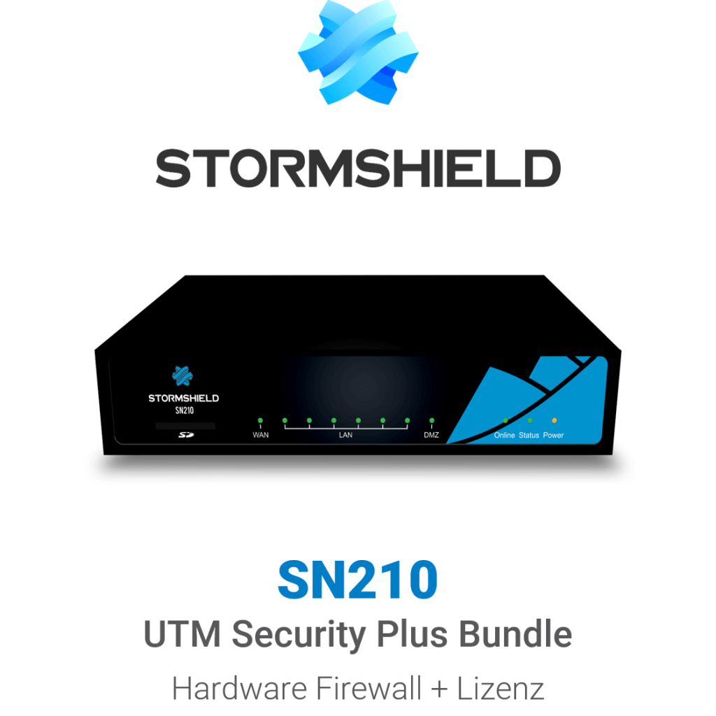 Stormshield SN 210 UTM Security Plus Bundle (Hardware + Lizenz)