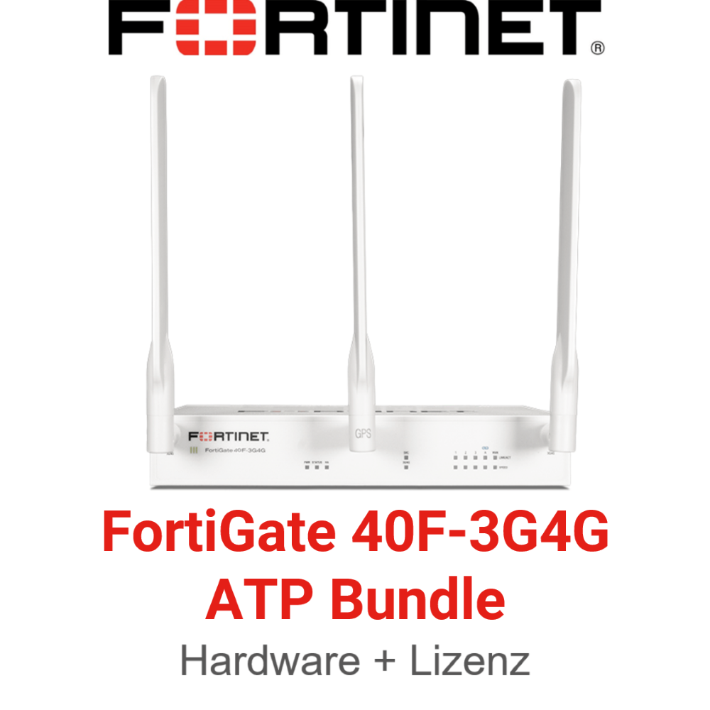 Fortinet FortiGate-40F-3G4G - ATP Bundle (Hardware + Lizenz)