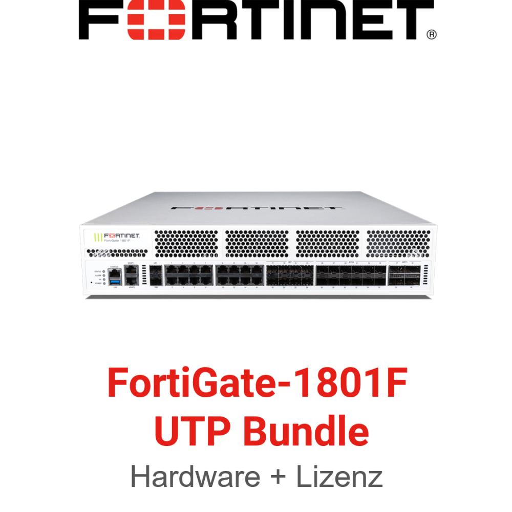 Fortinet FortiGate-1801F - UTM/UTP Bundle (Hardware + Lizenz)