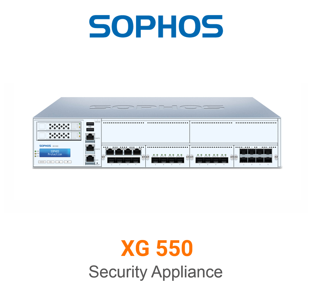 Sophos XG 550 Security Appliance