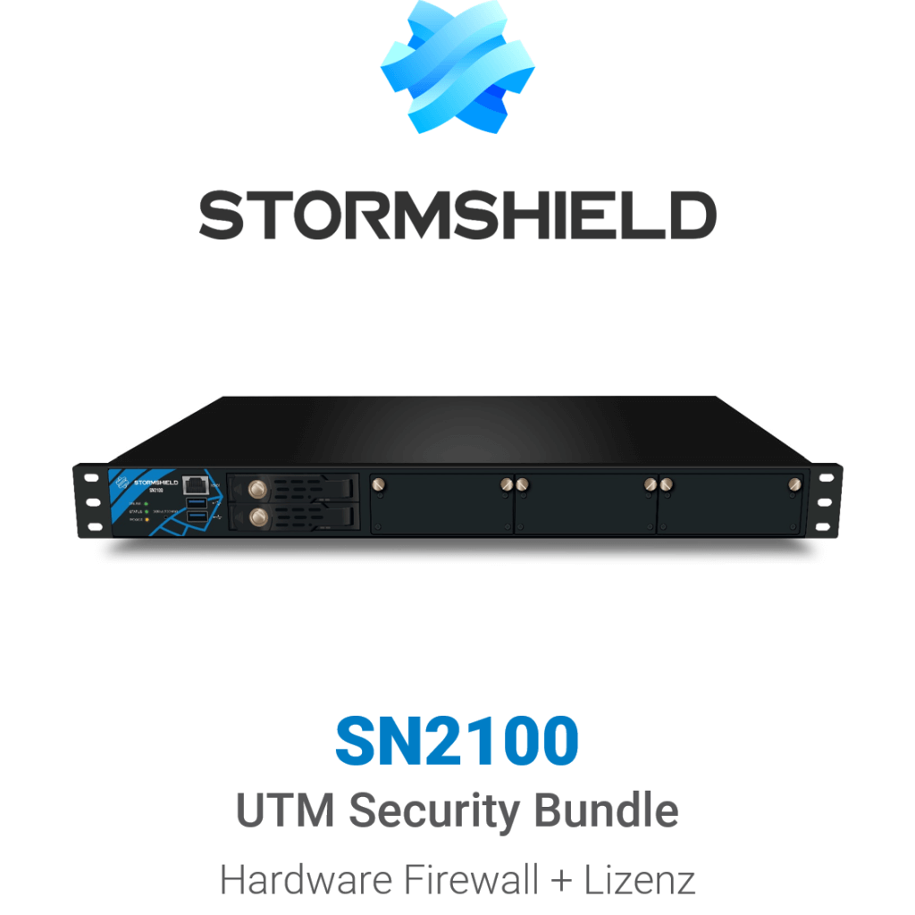 Stormshield SN 2100 UTM Security Bundle (Hardware + Lizenz)