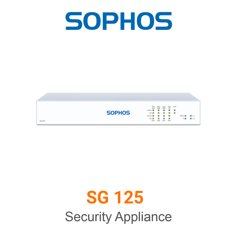 Sophos SG 125 Securiy Appliance
