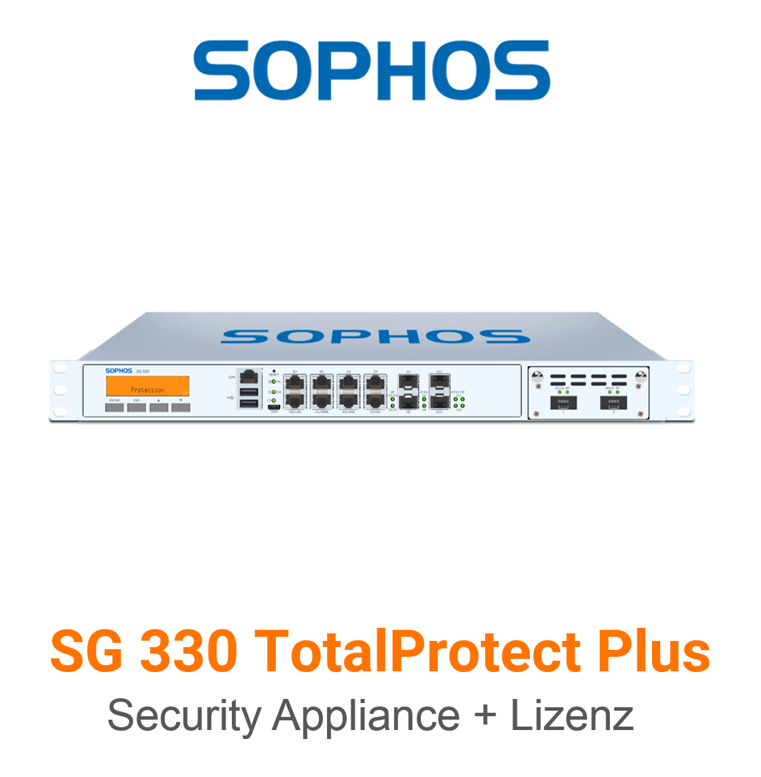 Sophos SG 330 TotalProtect Plus Bundle (Hardware + Lizenz)