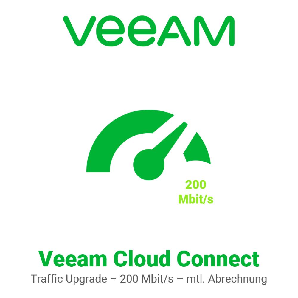 Veeam Cloud Connect - Traffic Upgrade