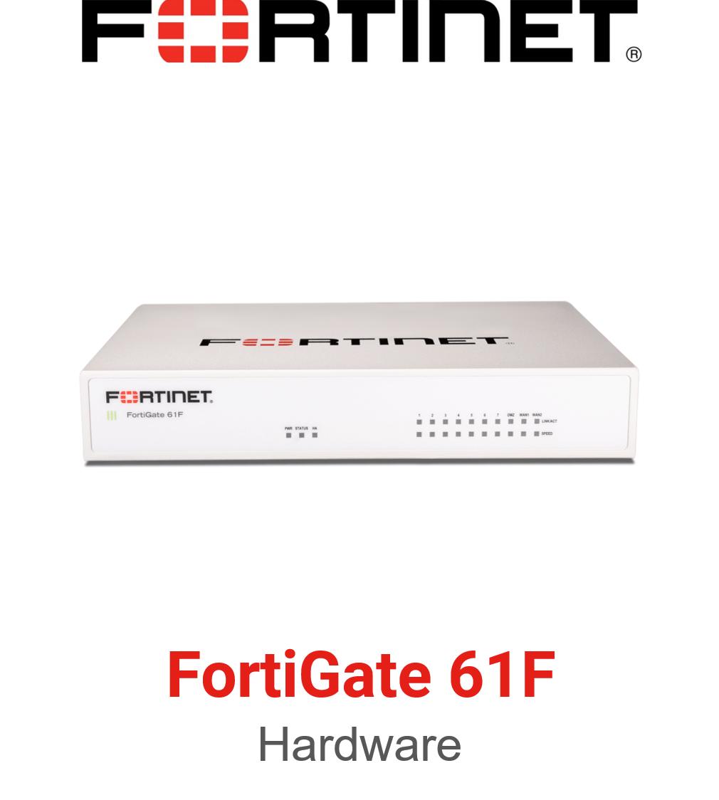 Fortinet FortiGate 61F Firewall