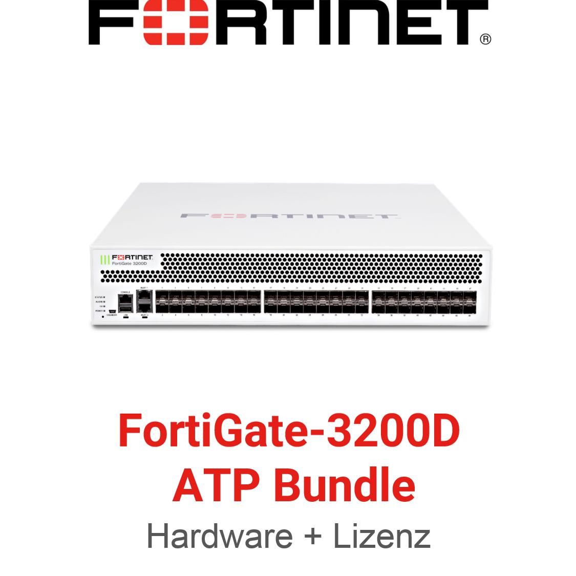Fortinet FortiGate-3200D - ATP Bundle (Hardware + Lizenz)