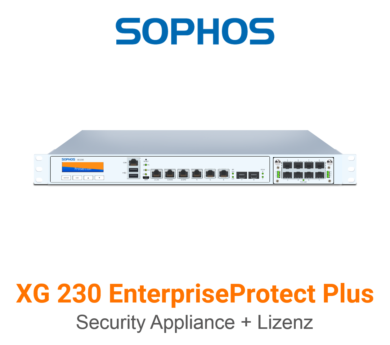 Sophos XG 230 EnterpriseProtect Plus Bundle (Hardware + Lizenz)