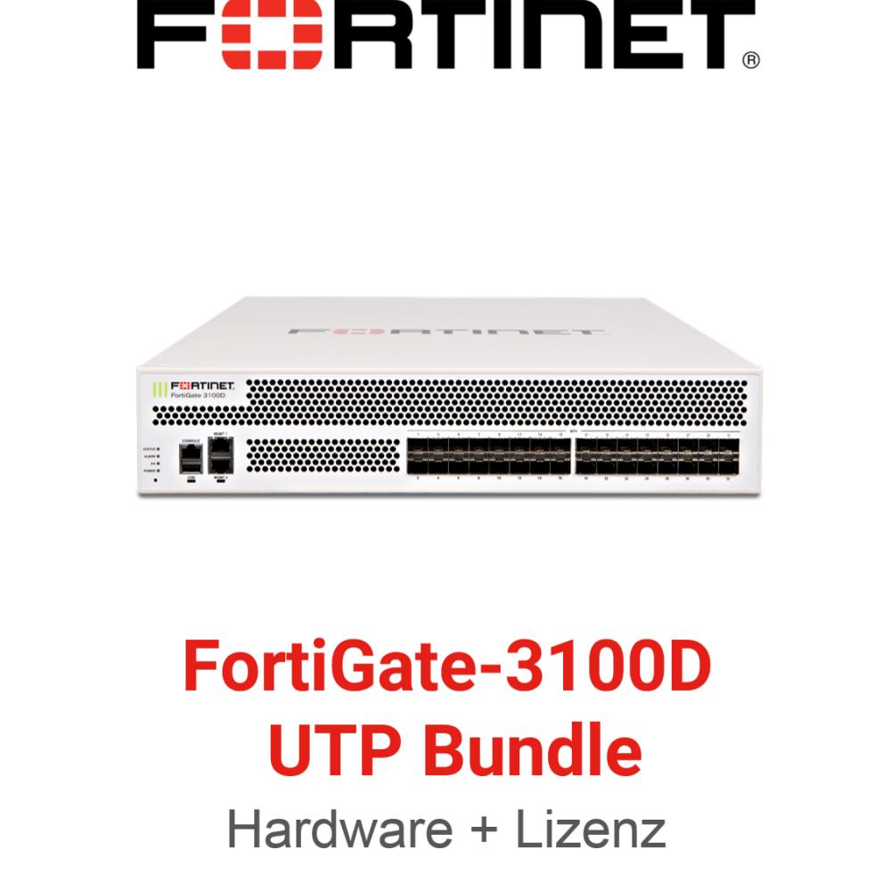Fortinet FortiGate FG-3100D - UTM/UTP Bundle (Hardware + Lizenz)