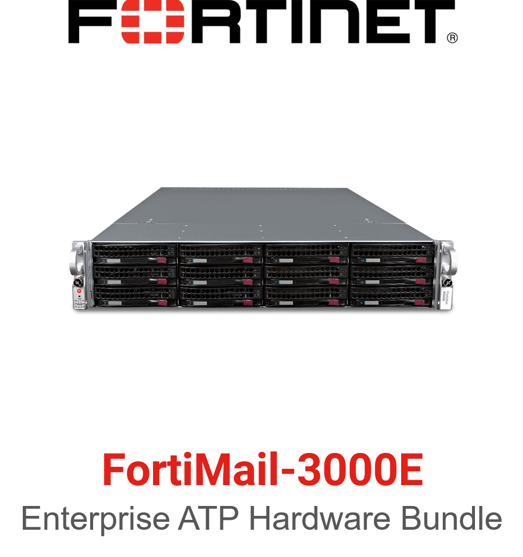 Fortinet FortiMail-3000E - Enterprise Bundle (Hardware + Lizenz)