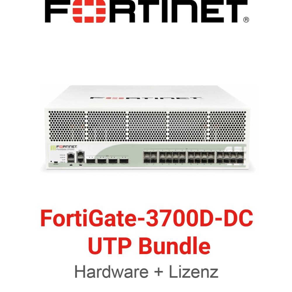 Fortinet FortiGate-3700D-DC - UTM/UTP Bundle (Hardware + Lizenz)