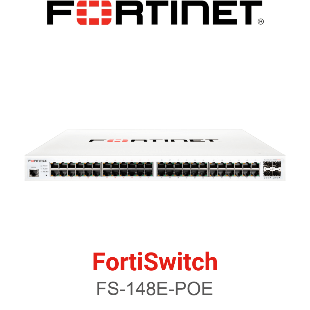 Fortinet FortiSwitch-148E-POE