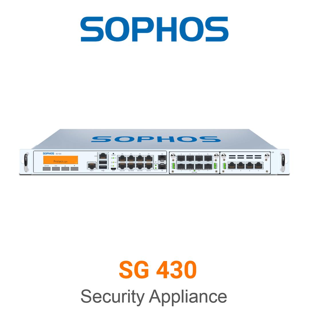 Sophos SG 430 Securiy Appliance