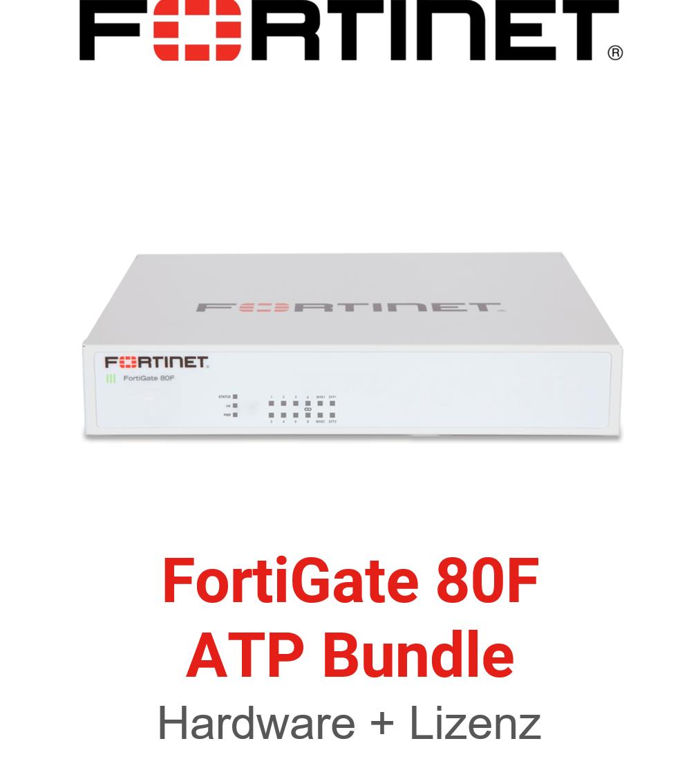 Fortinet FortiGate-80F - ATP Bundle (Hardware + Lizenz)