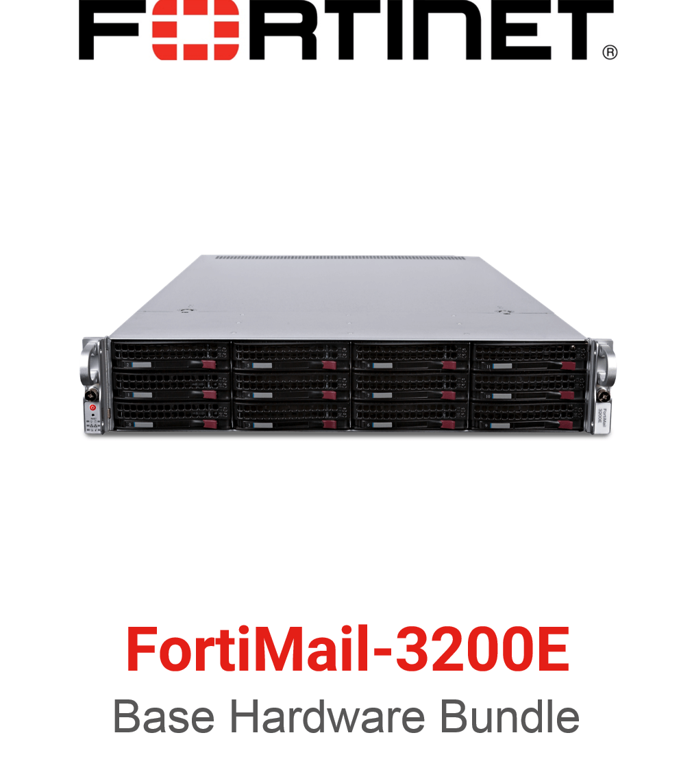 Fortinet FortiMail-3200E - Base Bundle (Hardware + Lizenz)