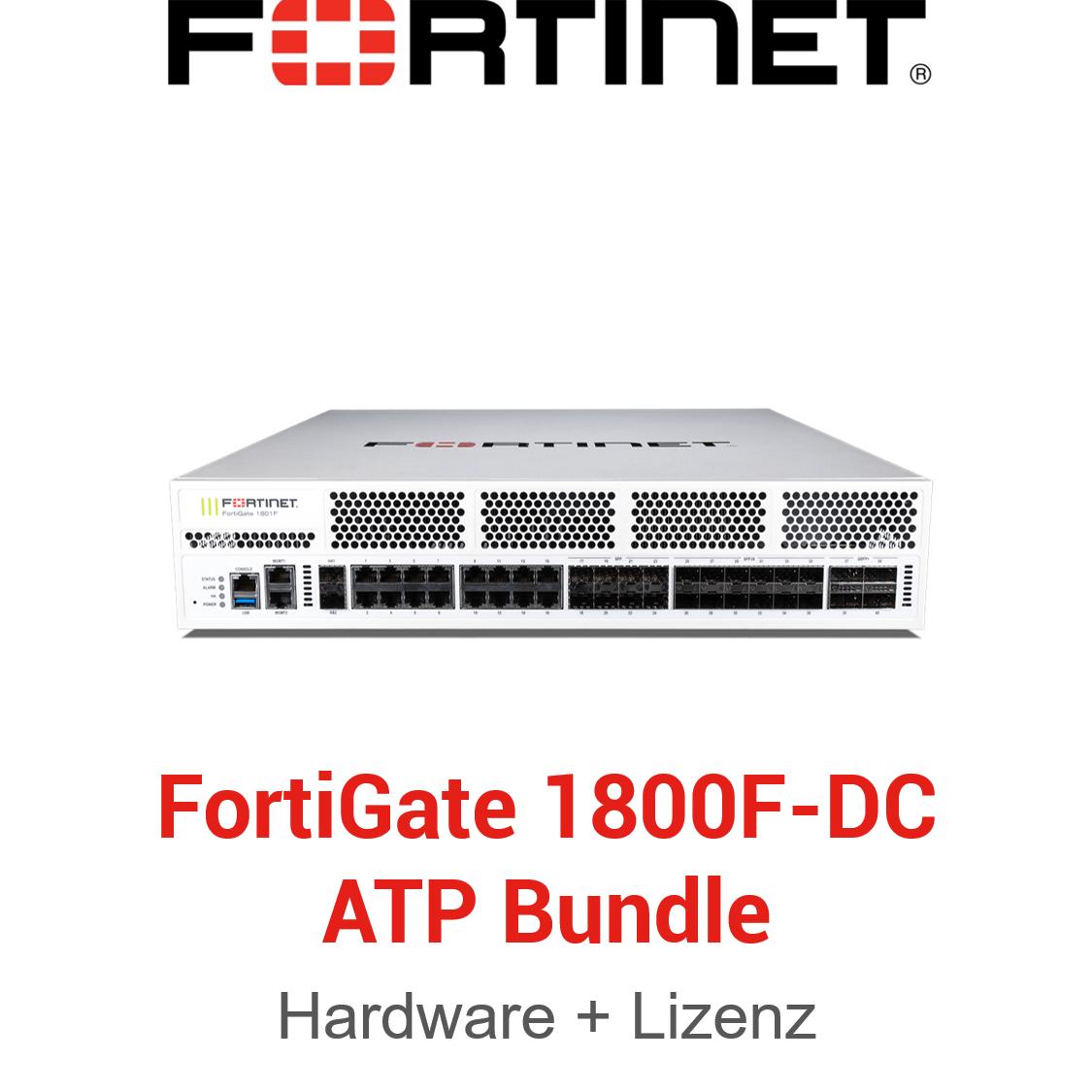 Fortinet FortiGate-1800F-DC - ATP Bundle (Hardware + Lizenz)