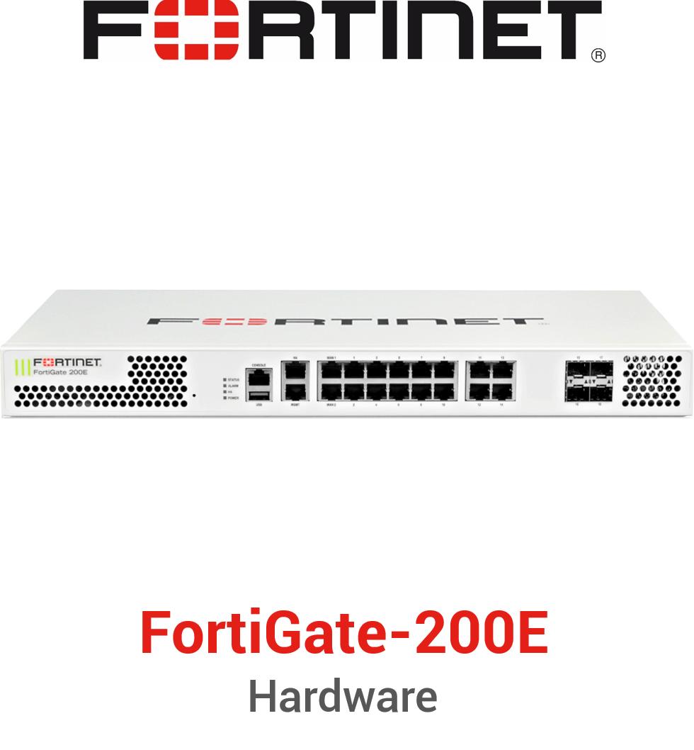 Fortinet FortiGate-200E