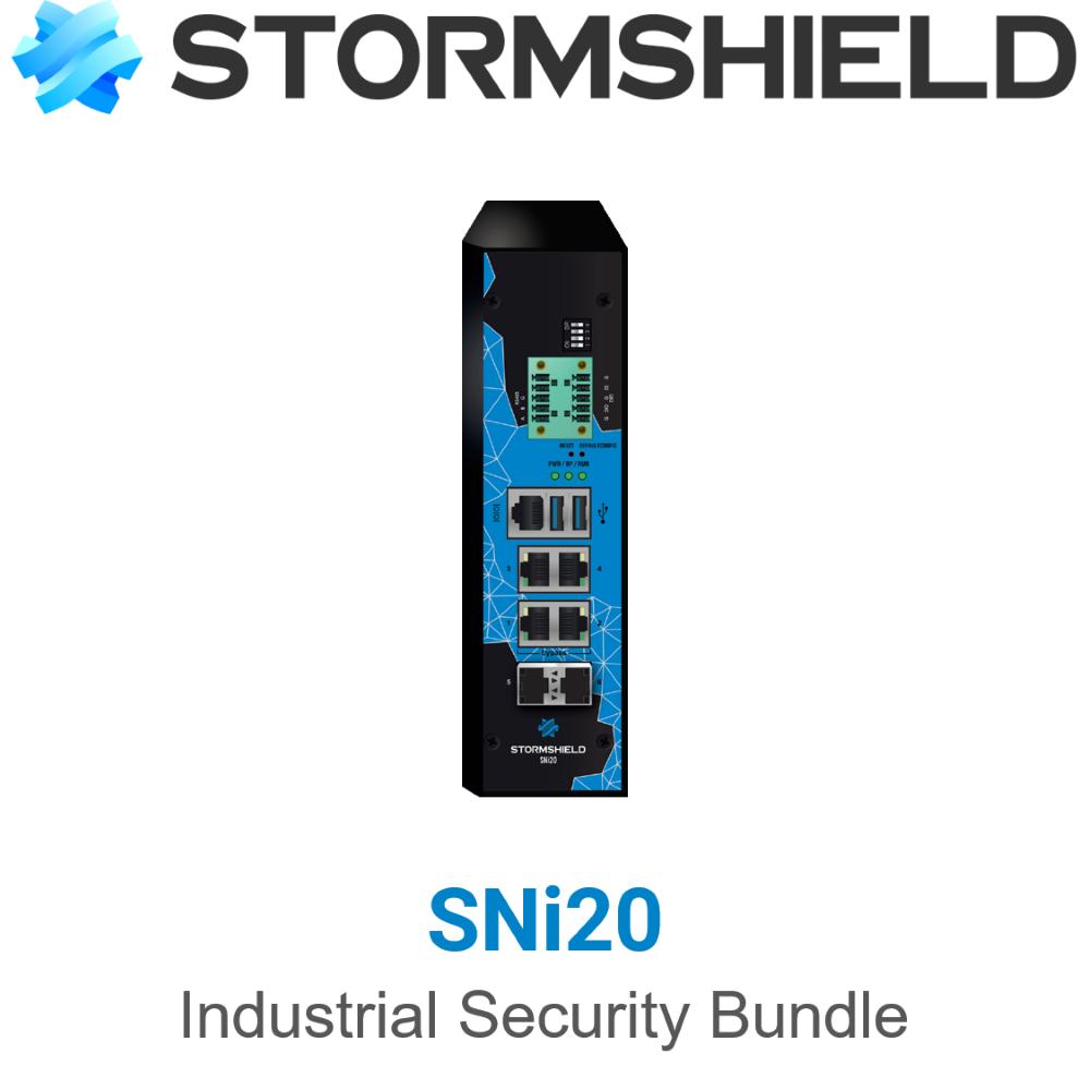 Stormshield SNi20 Industrial Security Bundle (Hardware + Lizenz)