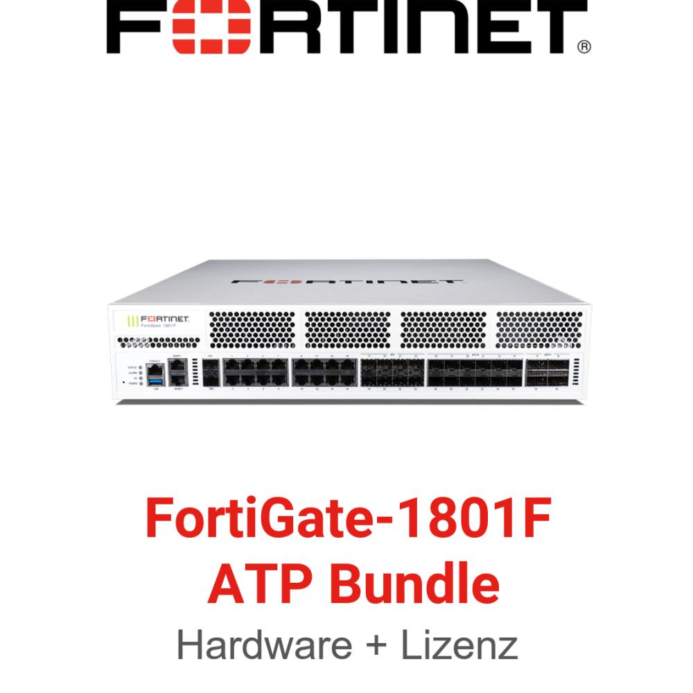 Fortinet FortiGate-1801F - ATP Bundle (Hardware + Lizenz)