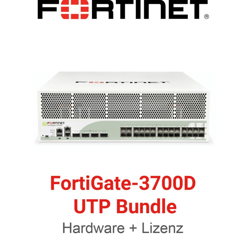 Fortinet FortiGate-3700D - UTM/UTP Bundle (Hardware + Lizenz)