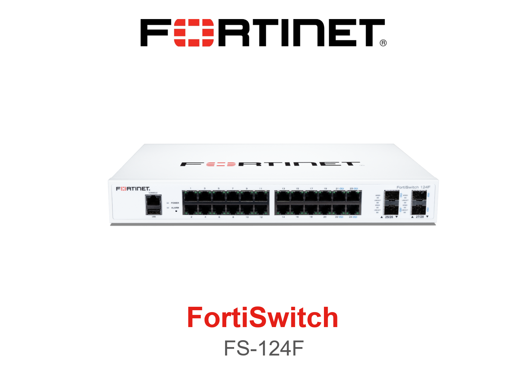 Fortinet FortiSwitch 124F