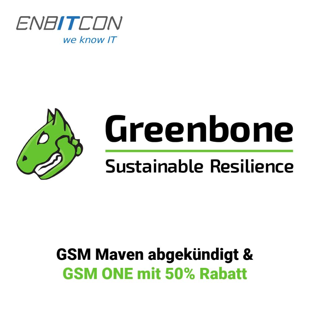 Greenbone GSM Maven abgekündigt Blog