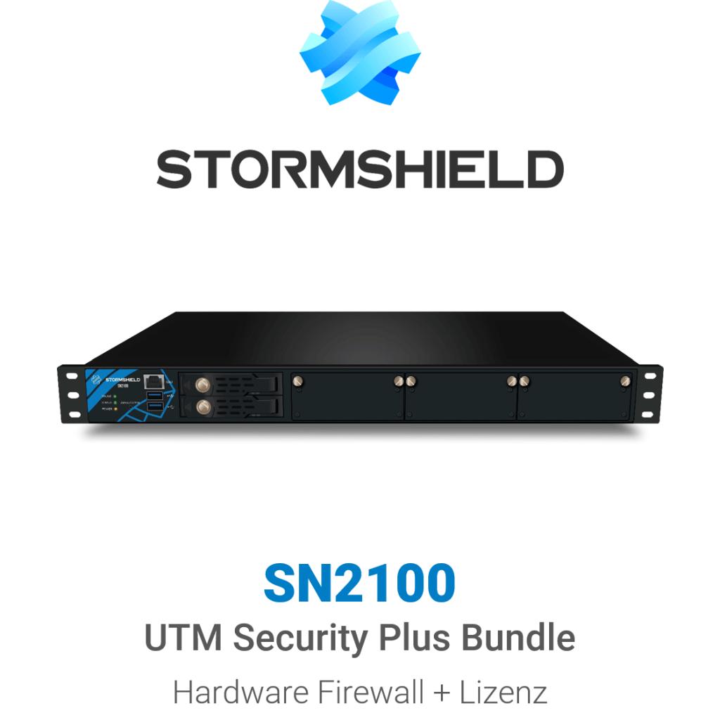 Stormshield SN 2100 UTM Security Plus Bundle (Hardware + Lizenz)