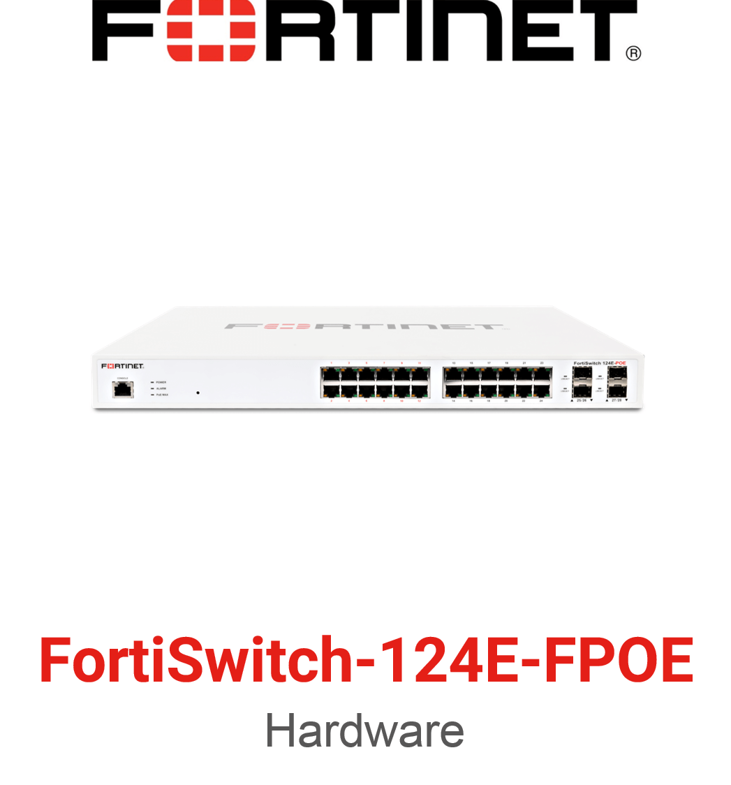 Fortinet FortiSwitch-124E-FPOE
