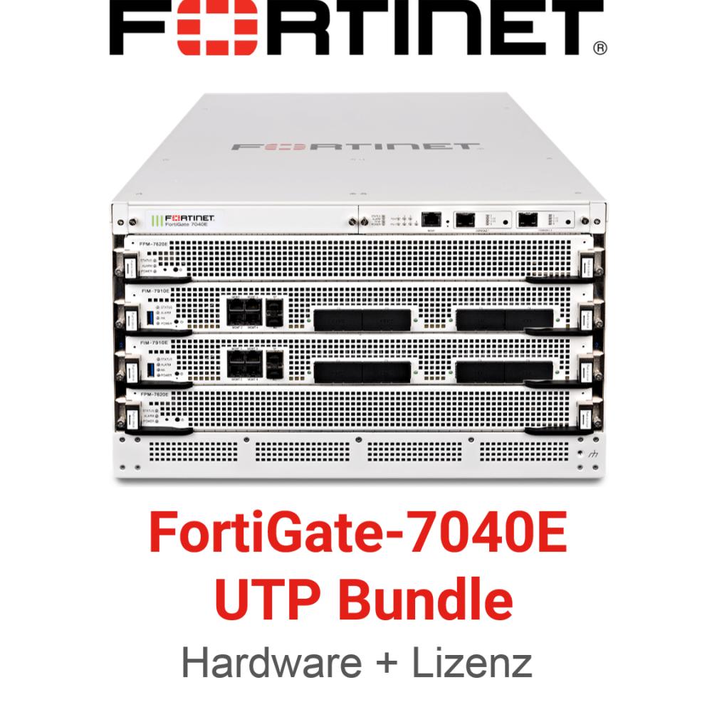 Fortinet FortiGate-7040E-8 - UTM/UTP Bundle (Hardware + Lizenz)
