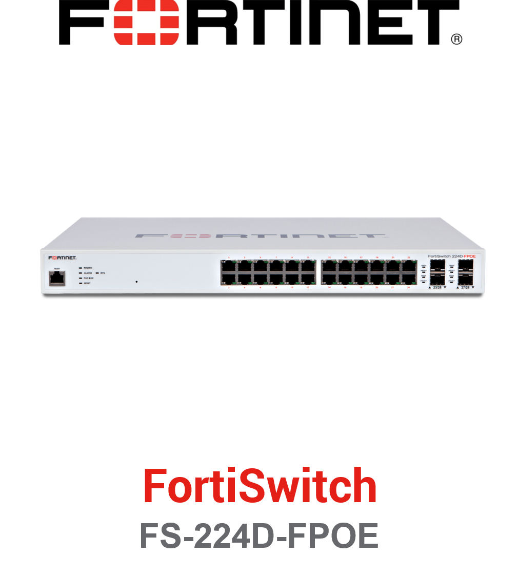 Fortinet FortiSwitch-224D-FPOE