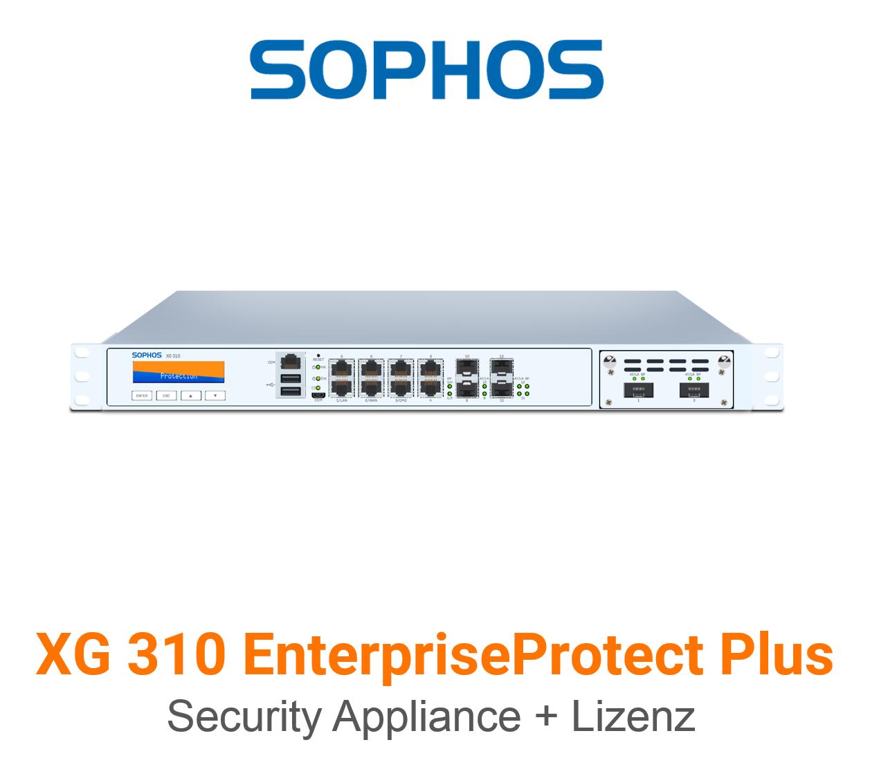 Sophos XG 310 EnterpriseProtect Plus Bundle (Hardware + Lizenz)