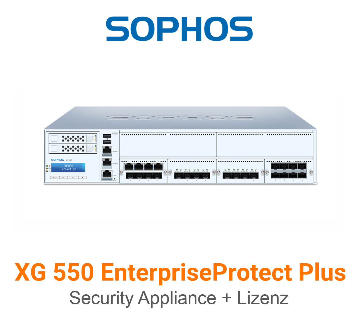 Sophos XG 550 EnterpriseProtect Plus Bundle (Hardware + Lizenz)
