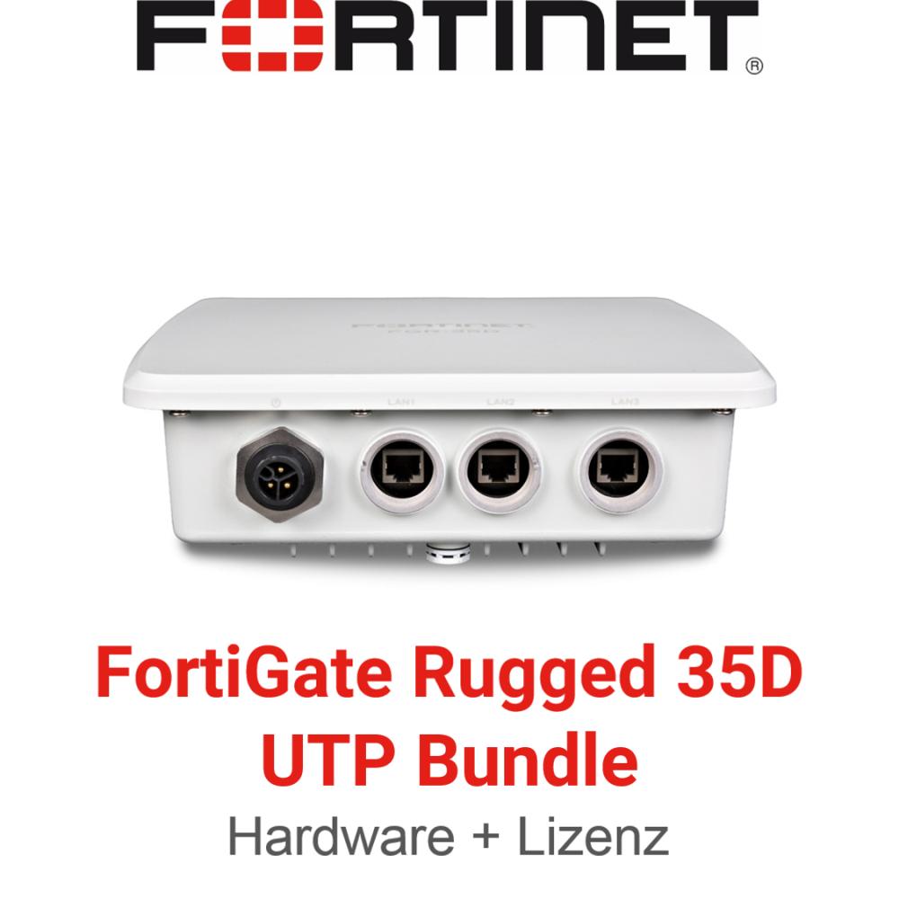 Fortinet FortiGateRugged-35D - UTM/UTP Bundle (Hardware + Lizenz)