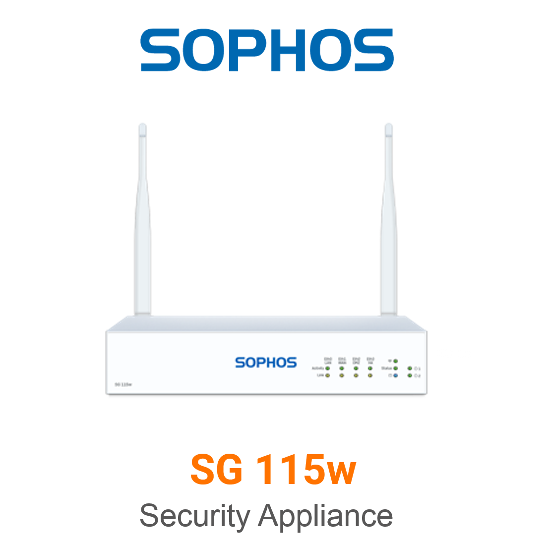 Sophos SG 115w Securiy Appliance