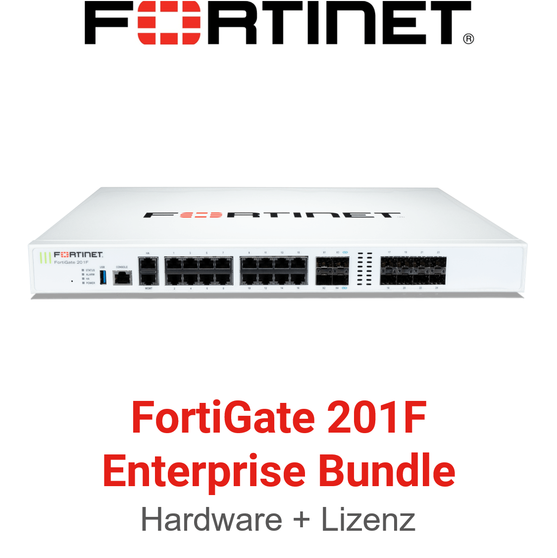 Fortinet FortiGate-201F - Enterprise Bundle (Hardware + Lizenz)