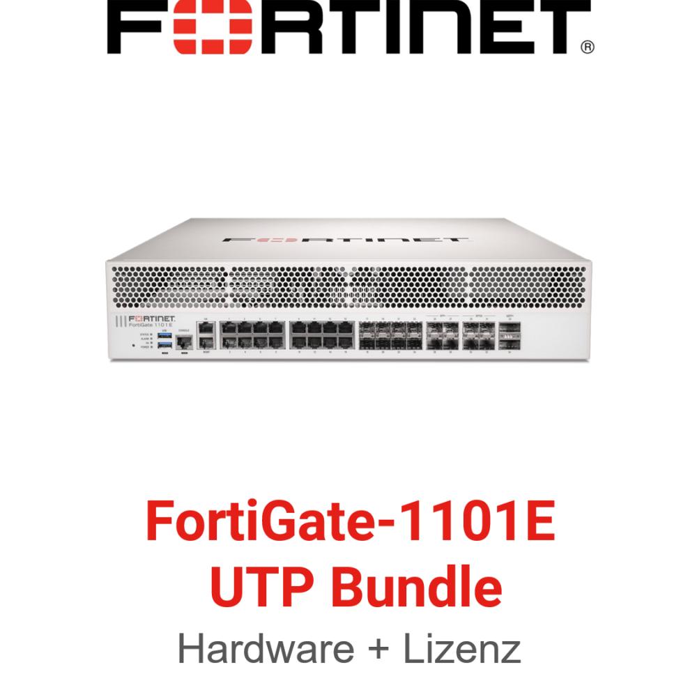 Fortinet FortiGate-1101E - UTM/UTP Bundle (Hardware + Lizenz)