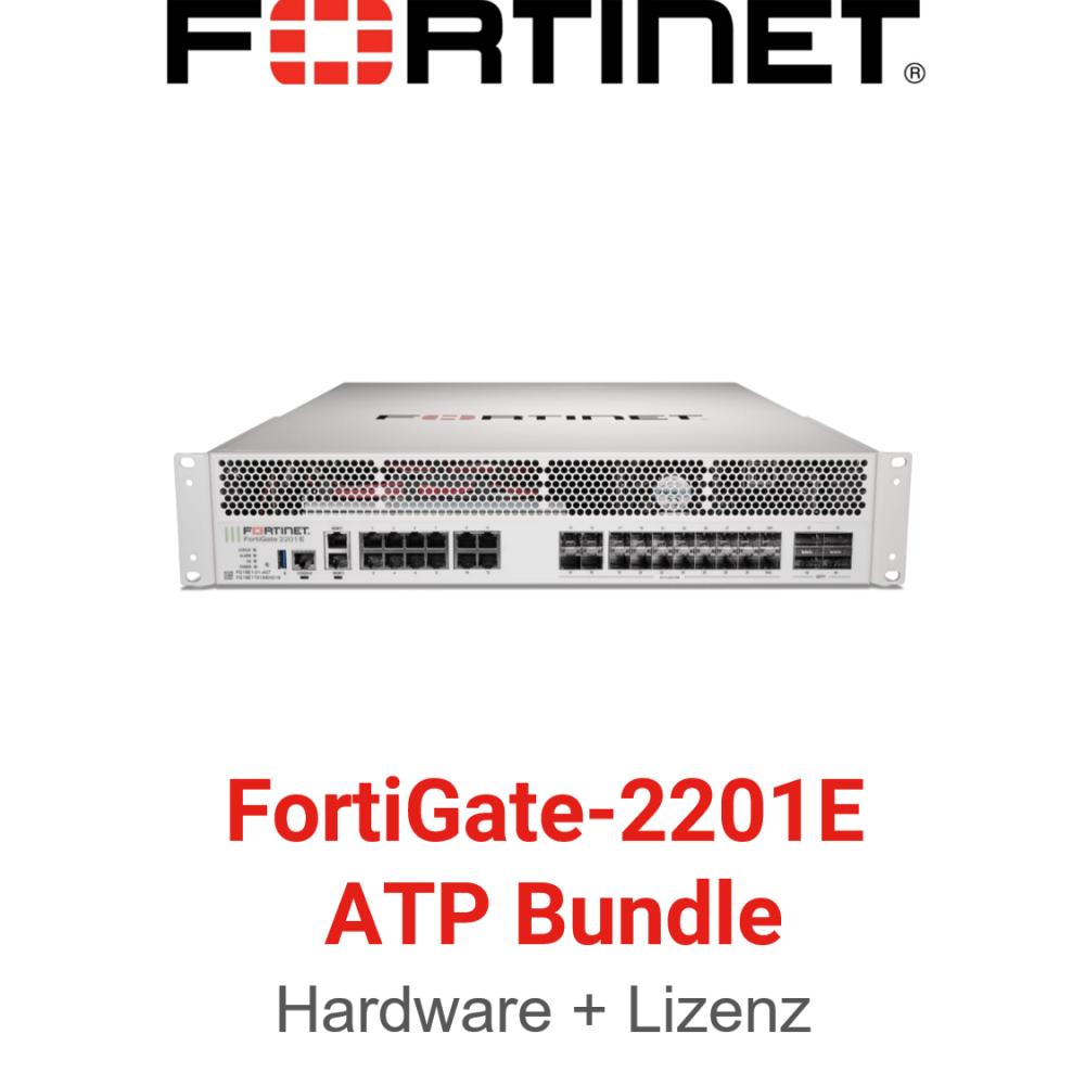 Fortinet FortiGate-2201E - ATP Bundle (Hardware + Lizenz)
