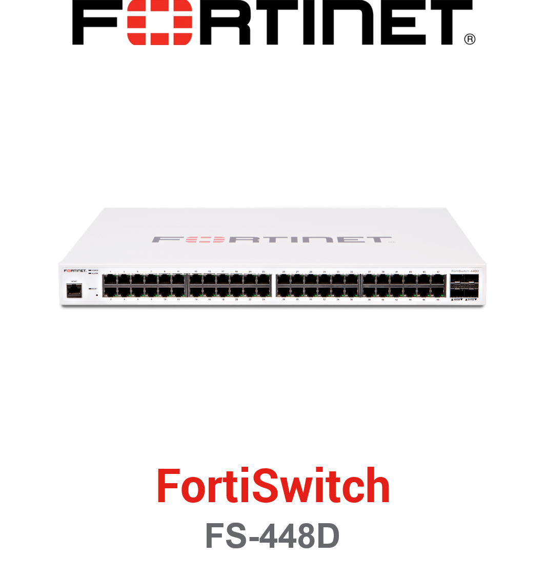 Fortinet FortiSwitch-448D